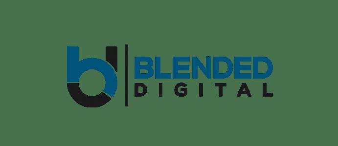 blended digital logo edit