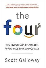 Book cover for The Four by Scott Galloway