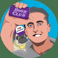 Book Club circle icon