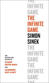 Book cover for The Infinite Game by Simon Sinek