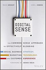 Book cover of Digital Sense by Travis Wright and Chris J Snook
