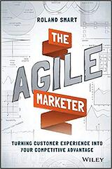 Book cover of The Agile Marketer by Roland Smart