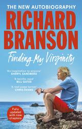 Book cover for Finding My Virginity by Richard Branson