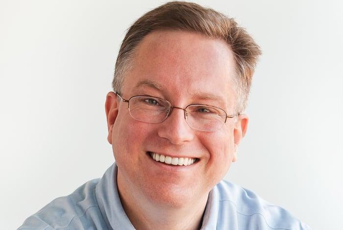 Scott Brinker smiling Photo
