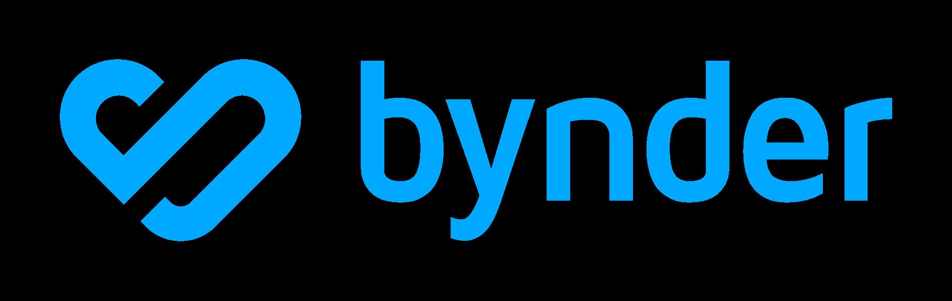 Bynder Logo Blue