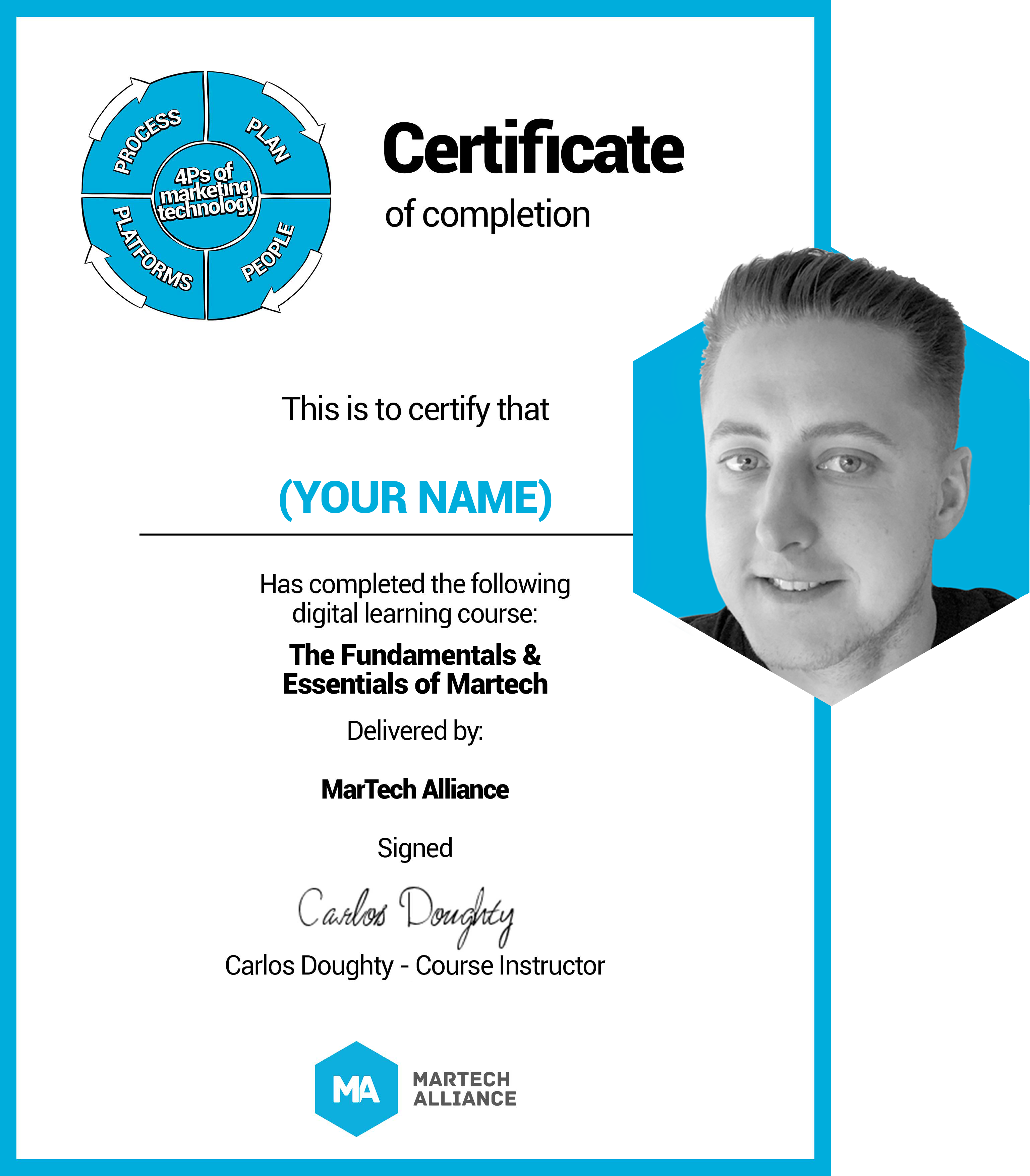 Certificate Carlos Headshot