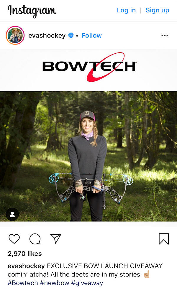 Bowtech Social Influencer