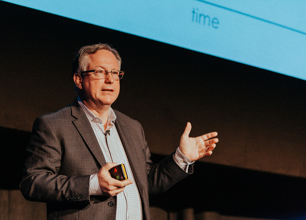 Scott Brinker headlining at the MarTech Festival 2018