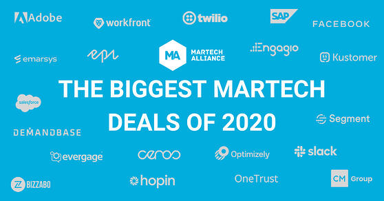 Biggest martech deals of 2020