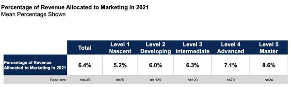 marketing maturity