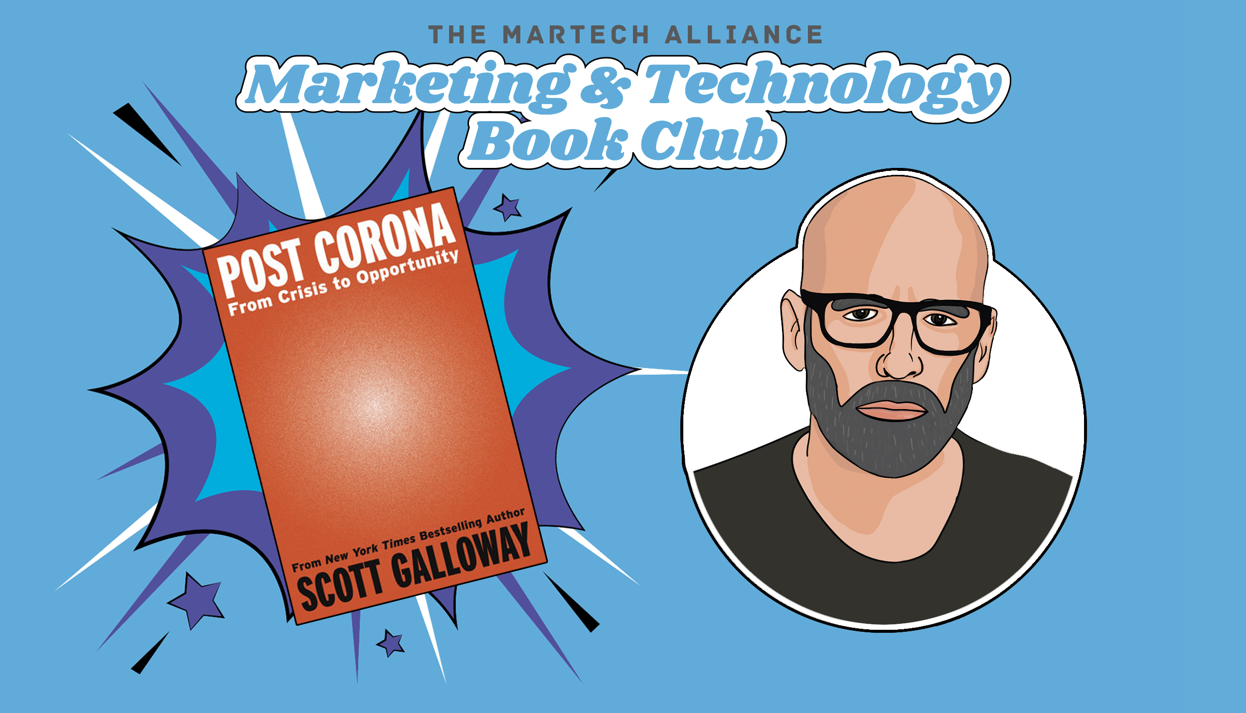 Marketing & Tech Book Club: Post Corona by Scott Galloway