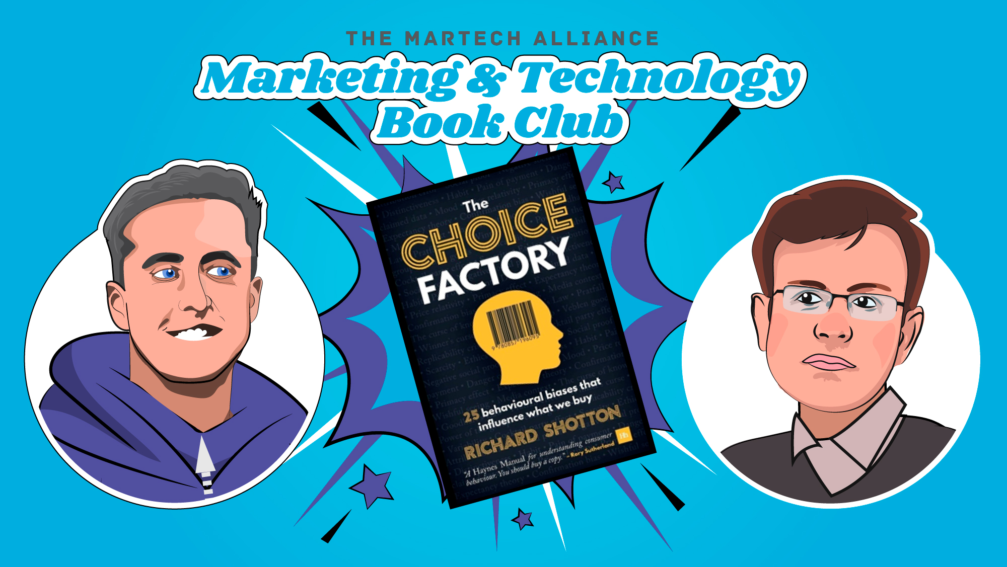 Marketing & Tech Book Club: The Choice Factory by Richard Shotton