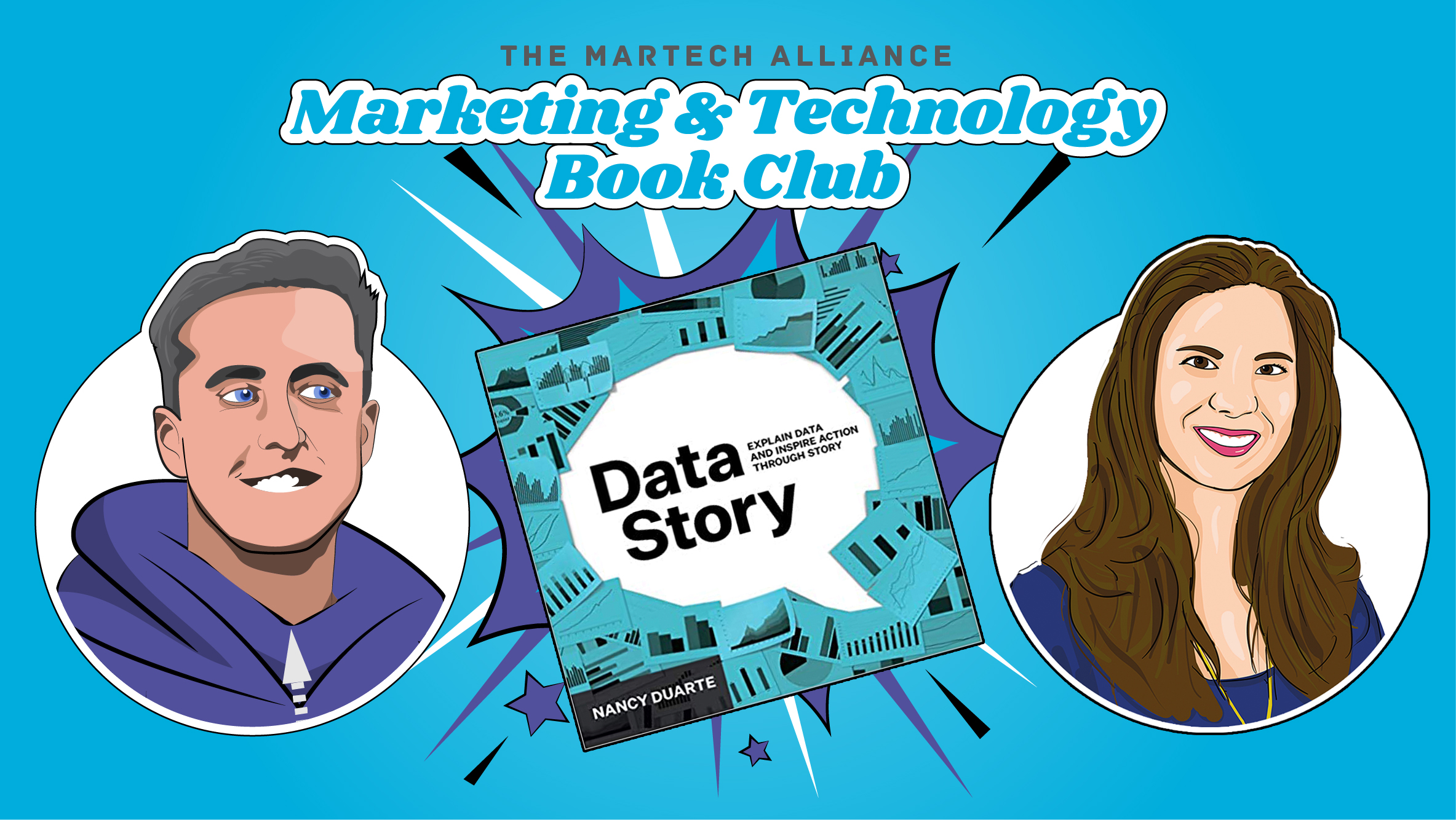 Marketing & Tech Book Club: DataStory by Nancy Duarte