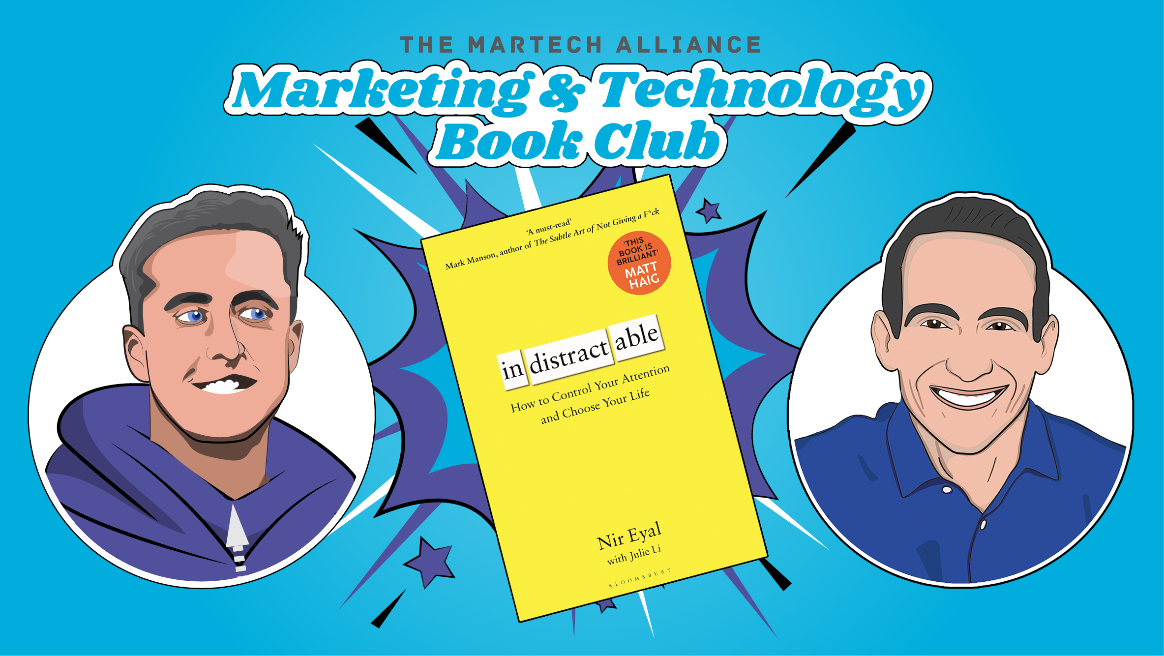 Marketing & Tech Book Club: Indistractable by Nir Eyal