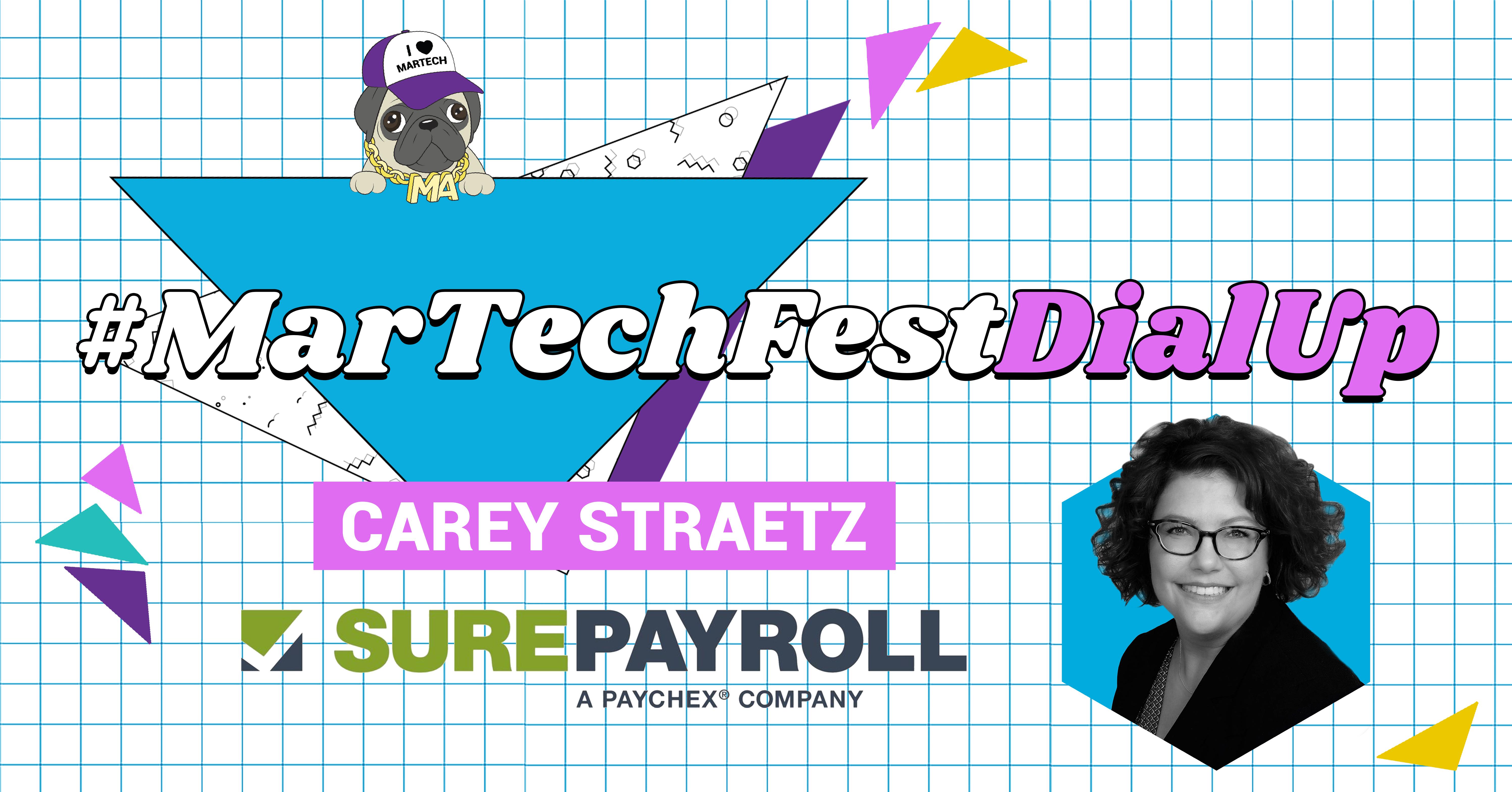 Q&A: Meet...Dial Up Speaker Carey Straetz