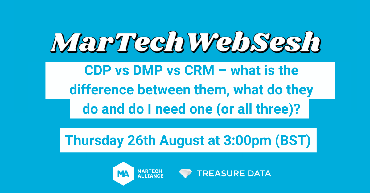 CDPs, DMPs and CRMs: Do I Need One (Or All Three)?