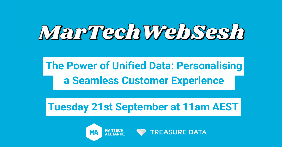Web Sesh: The Power of Unified Data: Personalising a Seamless Customer Experience