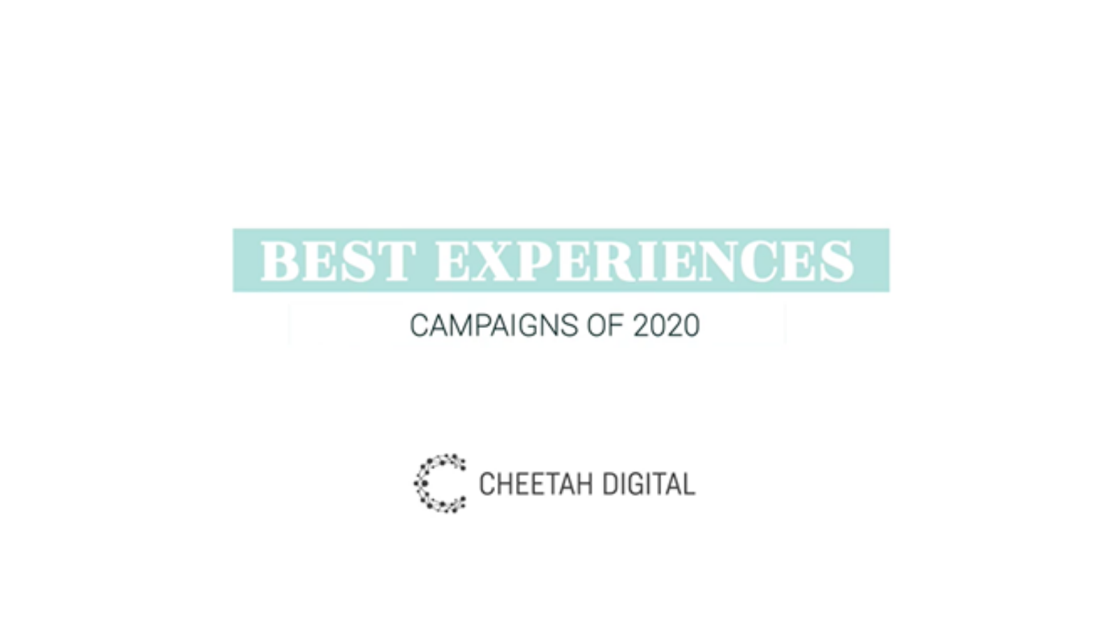 The Absolute Best Brand Experiences of 2020
