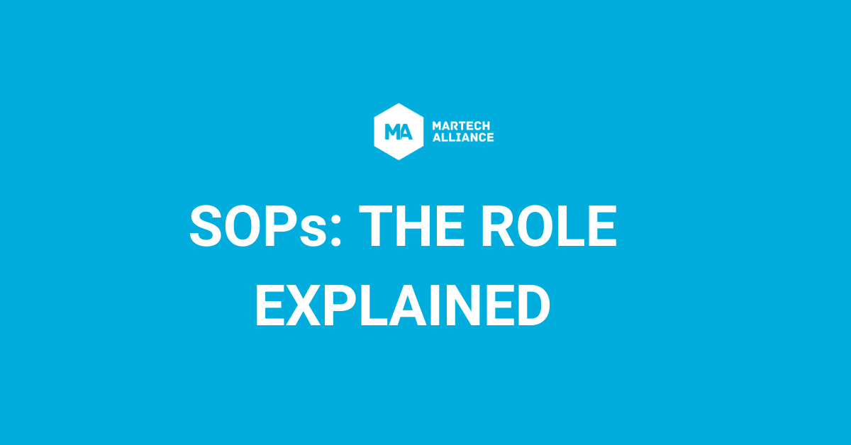 SOPs (Sales Operations Professionals): The Role Explained