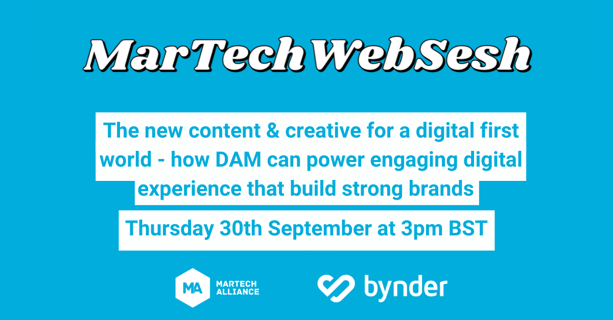 Webinar: how DAM can power engaging digital experience that build strong brands